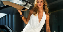 Model Rosie Huntington-Whiteley is a three-pronged business brand to be reckoned with in 2014